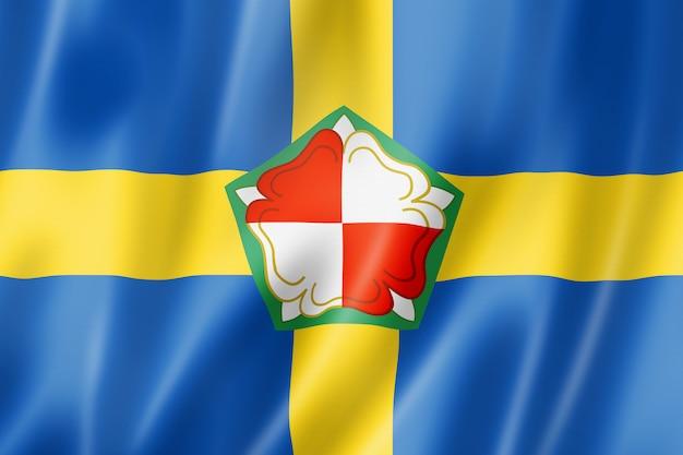 Bandiera della contea di pembrokeshire, regno unito