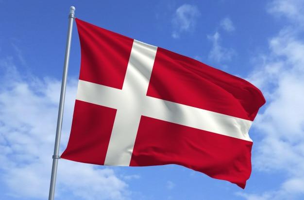 Bandiera della danimarca