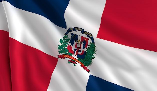 Bandiera della repubblica dominicana