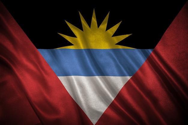 Bandiera dello sfondo antigua e barbuda