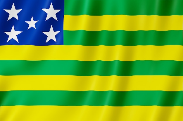 Bandiera dello stato di goias in brasile