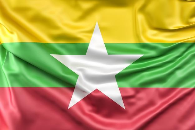 Bandiera di myanmar