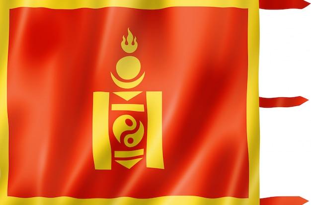 Bandiera etnica mongola della cina