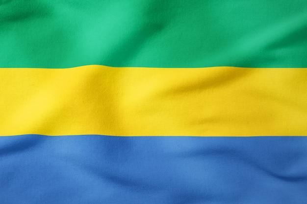 Bandiera nazionale del gabon