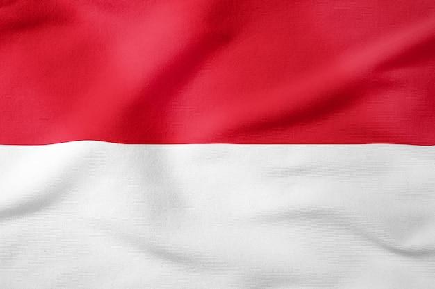 Bandiera nazionale dell'indonesia - simbolo patriottico di forma rettangolare