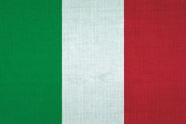 Bandiera nazionale in cotone dell'italia