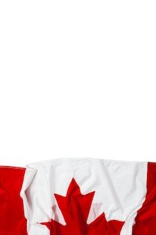 Bandiera sventolante del canada
