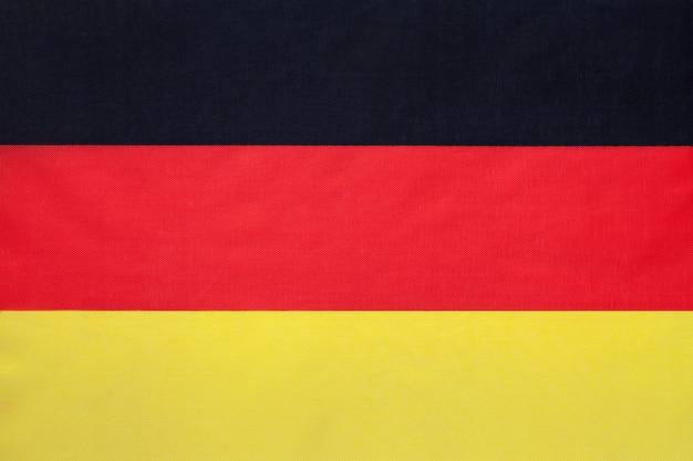 Bandiera tedesca del tessuto nazionale