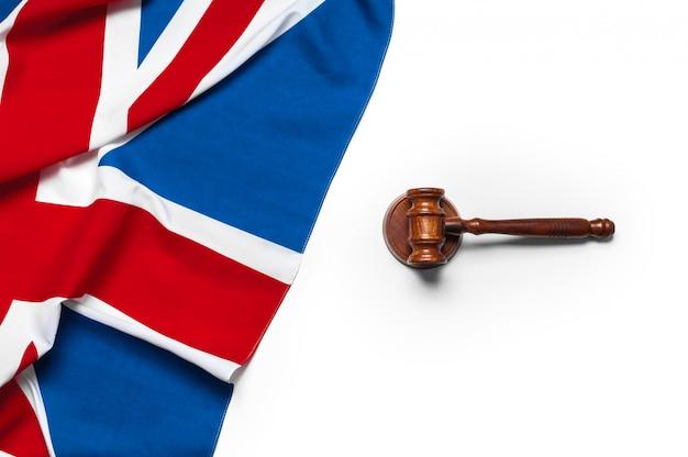 Bandiera union union e martelletto
