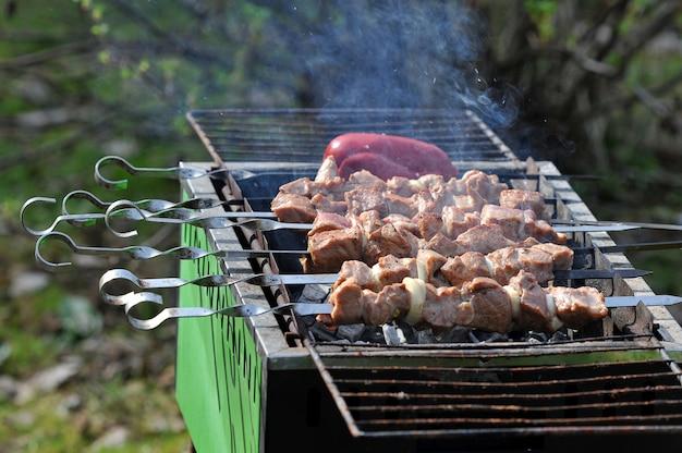 Barbecue alla griglia