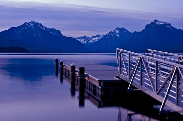 Barche dock lake mcdonald