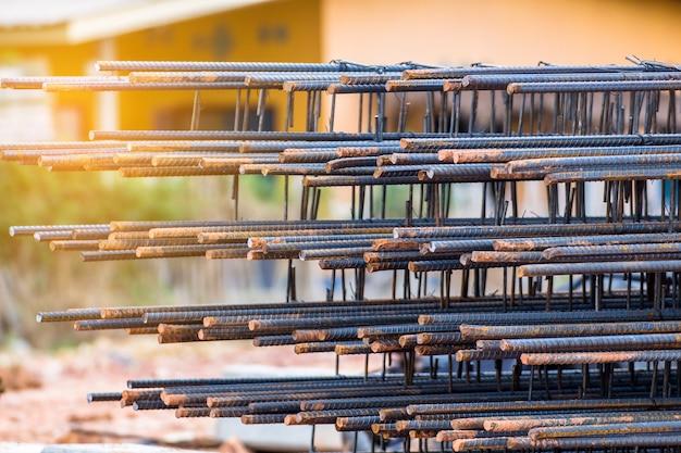 Barra d'acciaio per lavori in cemento armato, malta strutturale, infrastruttura