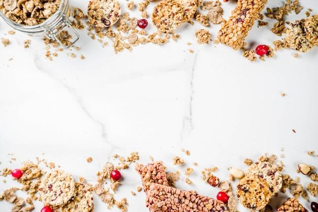 Barretta al muesli ai cereali