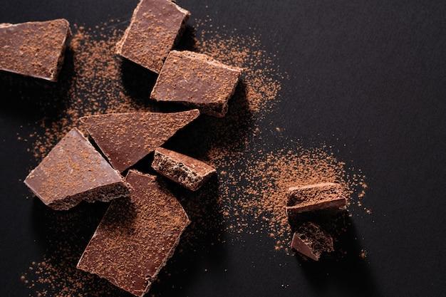 Barretta di cioccolato rotto