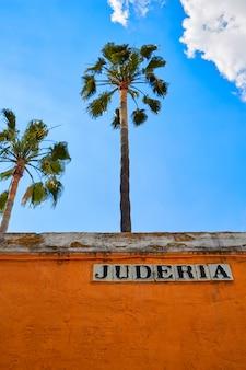 Barrio di siviglia juderia andalusia sevilla spagna
