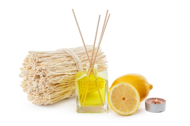 Bastoncini o bottiglia di profumo diffusore di profumo al limone