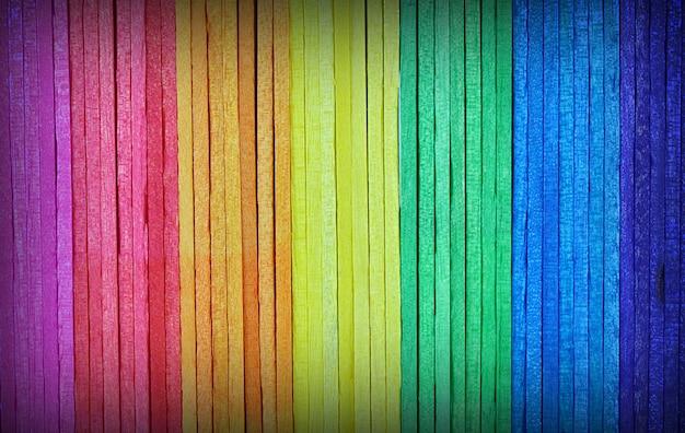 Bastone da gelato in legno colorato