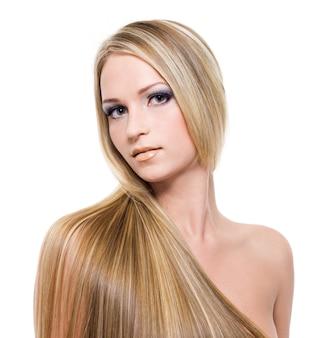 Bei capelli biondi