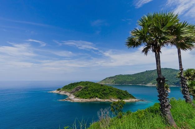 Bei punti di riferimento di punto di vista nella vacanza dell'isola di phuket phuket di phuket