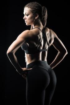 Bel corpo di fitness modell