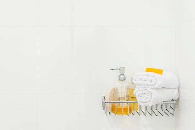 Bella composizione per spa o bagno concetto