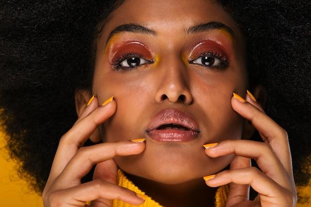 Bella donna afro