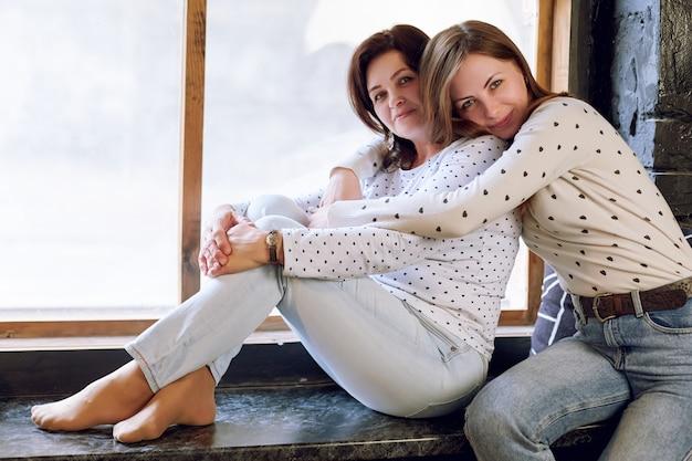 Bella donna e figlia, donna di successo