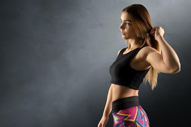 Bella donna sportiva