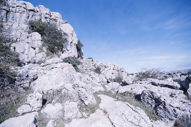 Bella scogliera rocciosa