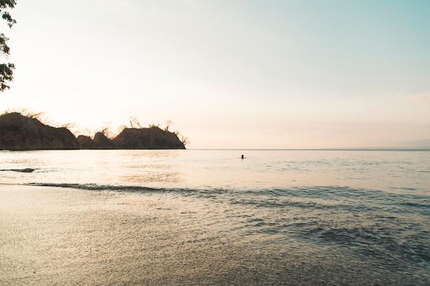 Bella serata sul mare