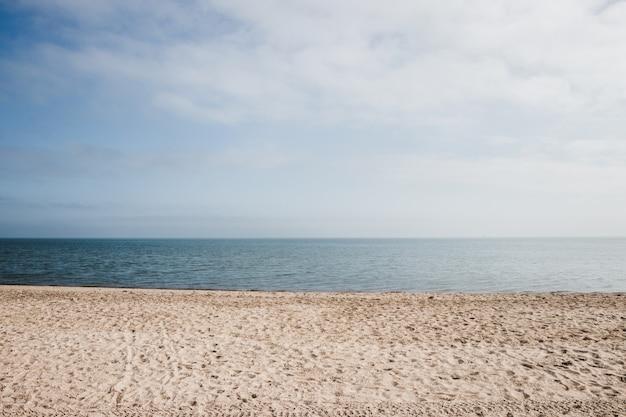Bella spiaggia sabbiosa