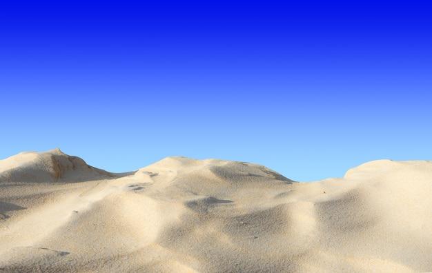 Belle dune di sabbia del paesaggio