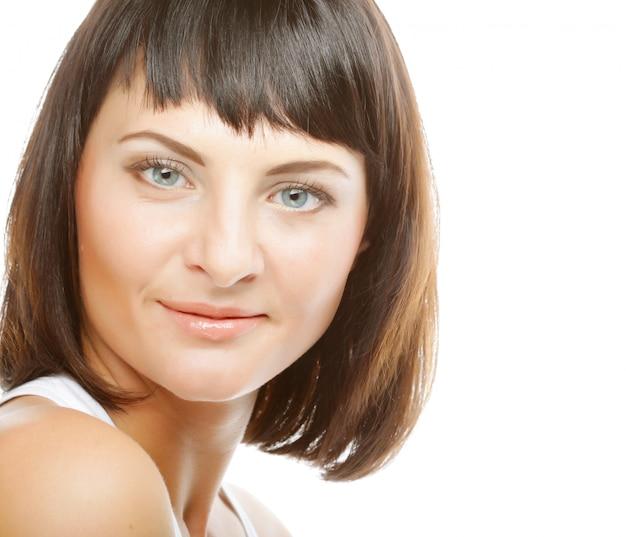 Bellezza viso di bella donna