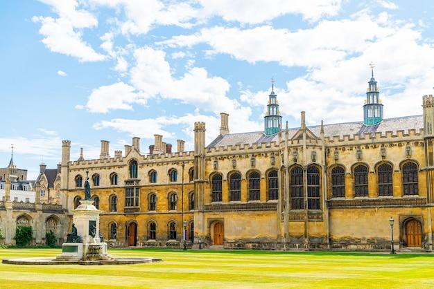 Bellissima architettura alla king's college chapel di cambridge, regno unito