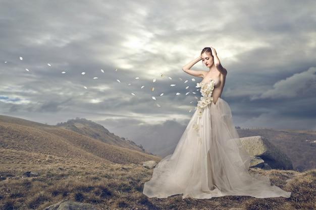 Bellissimo abito da sposa