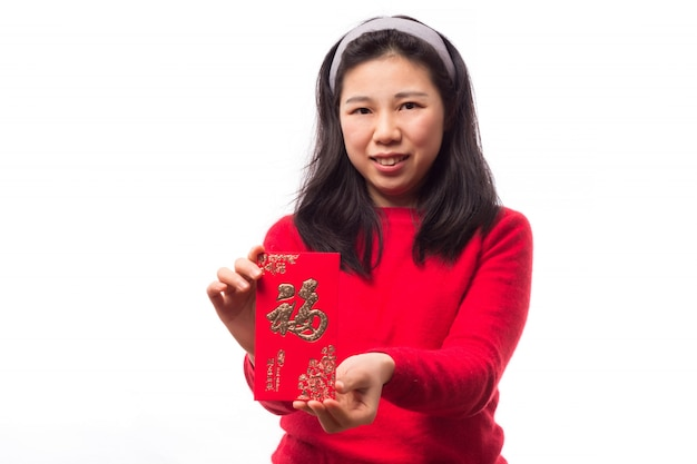 Bellissimo abito orientale festival asiatico