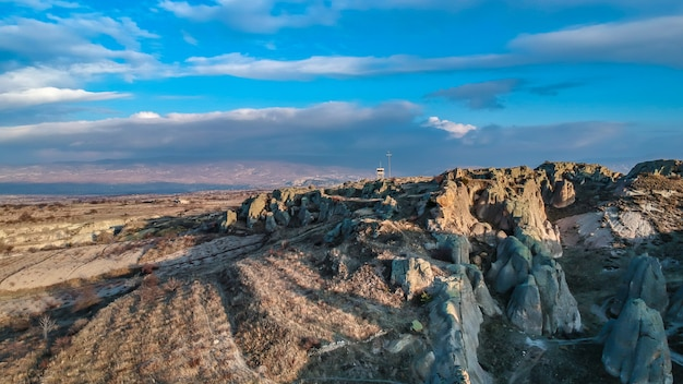 Bellissimo paesaggio cappadocia in turchia