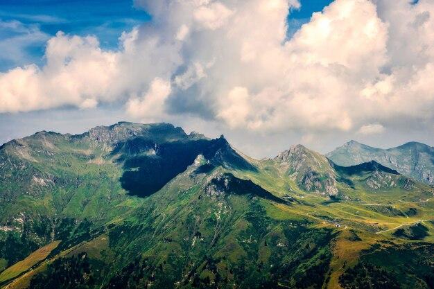 Bellissimo paesaggio delle alpi austriache, europa.