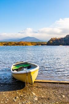 Bellissimo paesaggio di montagna fuji