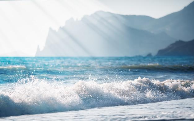 Bellissimo paesaggio marino