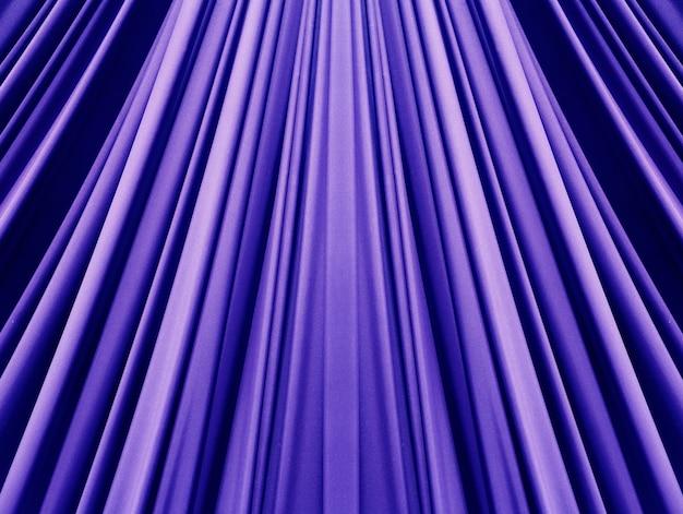 Bellissimo sfondo blu tessuto