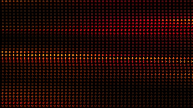 Bellissimo sfondo nero con glitter rosso. 3d illustrazione, rendering 3d.