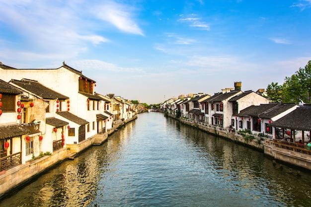 Bellissimo villaggio cinese