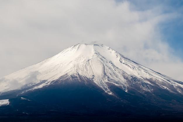 Bello fondo della montagna di fuji, montagna fuji nel giappone.