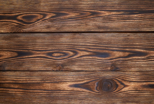 Bello modello e struttura marroni delle plance di legno per fondo. fondo in legno