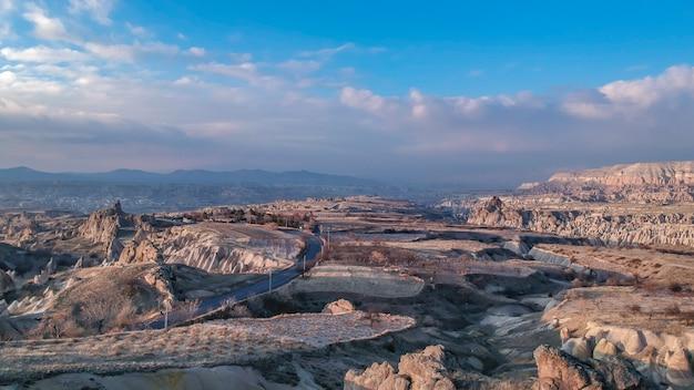Bello paesaggio di cappadocia in turchia