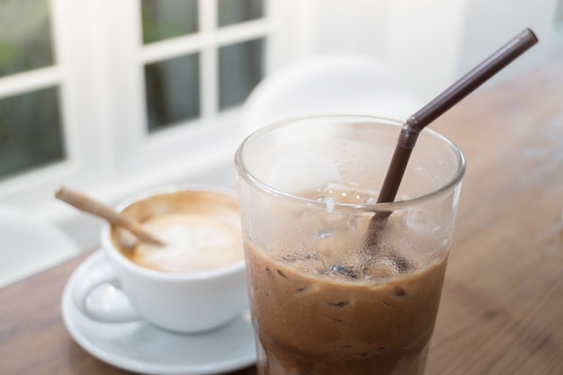 Bevanda al caffè caldo e freddo