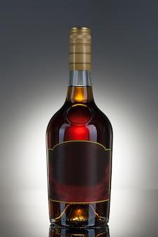 Bevanda alcolica in una bottiglia