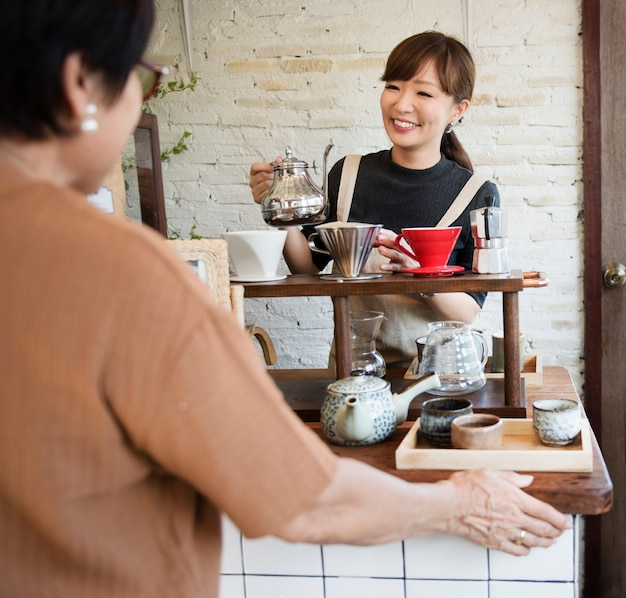 Bevanda barista cafe caffeina drink relax