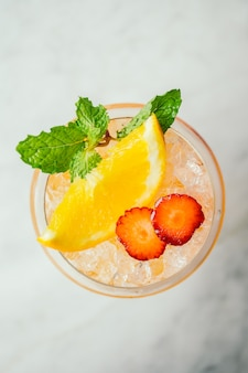 Bevanda cocktail di ghiaccio